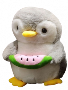 Shree Sai Durga Dhoom Toys | Cute and Soft Honey Penguin holding watermelon toy for kids | Soft Toy For Kids