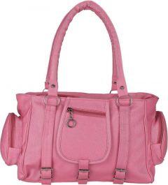 Incraze Eye-Catching Look, Lightweight & Convenient To Carry Women Shoulder Bag (Pink)