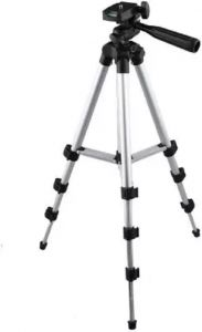 RSFuture 3888 Tripod Mount Stand with Wireless Remote for All Android & iOS Smart Phone DSLR, Camera Tripod