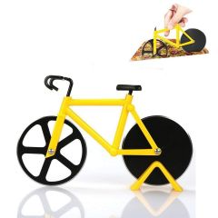 Multipurpose Stainless Steel Non-Stick Bicycle Shape Pizza Cutter