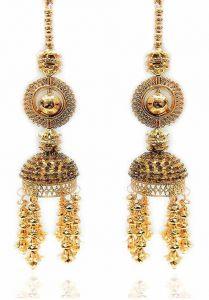 Priya Kangan Wedding Wear Punabi Kalera, Bridal Hand Hanging, kaleera for Brides, Girls & Women (Pack of 2 Piece)