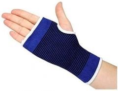 KGN Palm Wrist Glove Both Hand Grip Support Protector Brace Sleeve Support (Pack of 2)