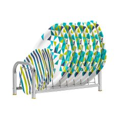 PALOMINO High-Grade Stainless Steel Plate Rack/Dish Rack/Utensil Rack (Silver)