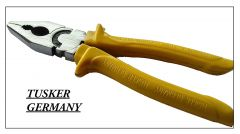 Tusker Germany Tools Combination Plier For Cutting And Bending Wire | 8-Inch | (Yellow) (Pack of 1)