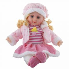 Poem, Musical Doll For Kids Soft Baby Girl Toy (Pack Of 1)