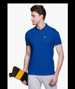 Essardistributor Stylish & Fashionable 100% Cotton Polo Half Sleeve T-shirt For Men's (Pack of 1)