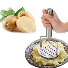 Multi Purpose Stainless Steel Potato Masher, PauBhaji Masher, Potato Masher