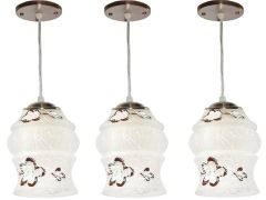 VAGalleryKing Decorative Hanging Pendant Ceiling Lamp Pack Of 3 | Brown