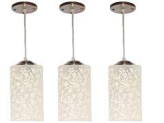VAGalleryKing Decorative  Hanging Pendant Ceiling Lamp Pack Of 3