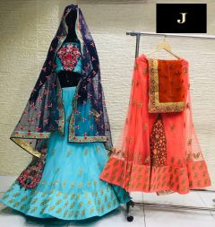 Jashikthaindustries Fashionable Beautiful Lehenga Choli For Women's