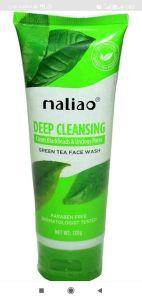 Prakashstore Maliao Green Tea Deep Cleansing Face Wash & Clear Blackheads (130 Grams)