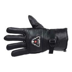 Prakashstore Finger Riding Bike Gloves With Touch Proof, Motorbike Motorcycle Racing Driving Hard Case Anti-Slip Gloves (Black)