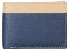 ASPENLEATHER Blue PU Leather Wallet For Men