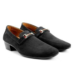 Bxxy's Mens Suede Height Increasing Casual Moccasins Shoes All Occasions