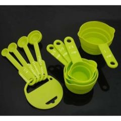 Measuirng Spoon And Cup Set For Kitchen & Dining (Pack Of 8 Spoons)