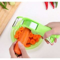 Delightful Vegetable Cutter Very Handy And Comfortable To Use And Maintain (Pack Of 1)