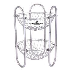 PALOMINO Stainless Steel Fruit and Vegetable Kitchen Rack Trolley (2 Tier)