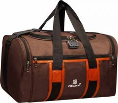 AE EXCELLENT-Travel Duffle Bag With Waterproof and Number Lock For Outdoor and Seasonal (Capacity: 55 L) (Pack of 1)
