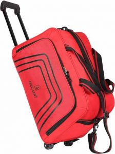 AE EXCELLENT Small Cabin Polyester Travel Duffel Trolley Bag (Capacity: 45 L)