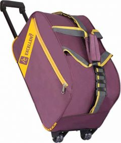 AE EXCELLENT Polyester Travel Duffel Trolley Bag (Capacity: 45 L)