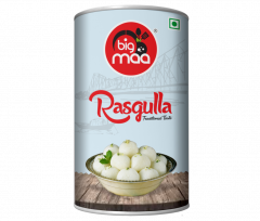Big Maa Ready To Eat Indian Sweets Rasagulla For Good Taste (500 G) (Pack of 1)