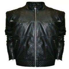 Aspenleather Franchise Club Raw X Leather Jacket (Black)