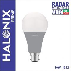 Halonix B22 White Radar Motion Sensor LED Bulb 10W (Pack of 1)