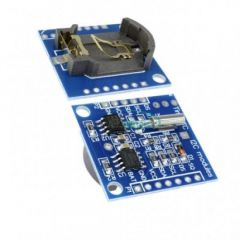 Real Time Clock DS1307 RTC I2C Module Fully Assembled and Pre-Programmed | Pack of 1