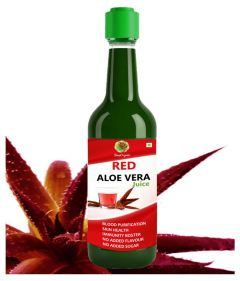 SnapOrganic RED Aloe Vera Health Drink and Immunity Booster  (500 ml)
