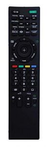 Mand High-Quality Plastic URC67 Sony LCD/LED HD TV Remote (Black) (Pack of 1)
