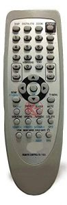 Mand High-Quality Plastic TV Remote For RC115/DRC115/D and RC 115 D (White) (Pack of 1)