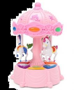 MohitEnterprises | Toddler Toy Musical Merry Go Round - Random Color