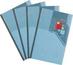 Toss 2021 B5 Diary Ruled 330 Pages (Multicolor) (S-34) (Pack Of 1)