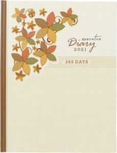 Toss 2021 B5 Diary Ruled 365 Pages Perfect Gift For Girl, Boy, Friend (S-36) (Pack Of 1)