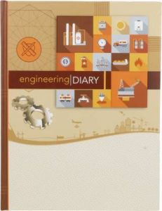 Toss 2021 B5 Diary Ruled 352 Pages (Multicolor) (S-38) (Pack Of 1)