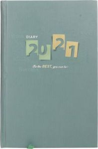 Toss 2021 A5 Diary Ruled 330 Pages (Green) (S-43) (Pack OF 1)