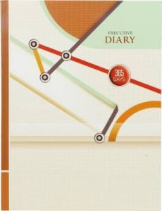 Toss 2021 B5 Diary Ruled 365 Pages (Multicolor) (S-63) (Pack Of 1)