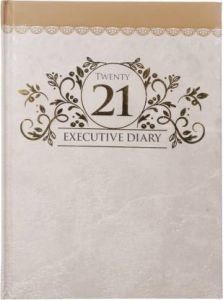 Toss 2021 B5 Diary Ruled 330 Pages (Multicolor) (S-67) (Pack OF 1)