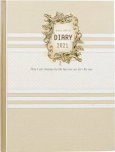 Toss 2021 B5 & 330 Pages Ruled Diary (Green) (S-68) (Pack Of 1)
