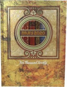 Toss 2020 B5 Diary 330 Pages Perfect Gift For Girls & Boys (Pack Of 1)