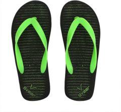 Svaar Stylish & Fashion Flip Flops Comfortable Green