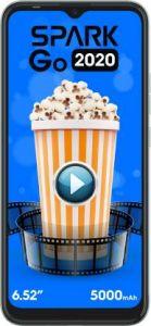Tecno Spark Go 2020 Smartphone (Ice jadeite, 2GB RAM, 32 GB Storage)    Pack of 1