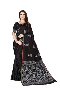 Imported Banarasi Silk Saree With Unstitched Blouse Piece for Womens