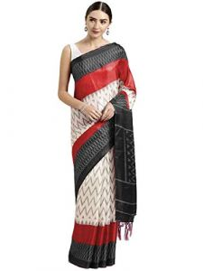 Kanchipuram Box Mysure Silk Banarasi Saree with Blouse Piece for Women