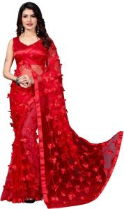 Stylish & Fashionable Butterfly Saree for Women (Pack of 1)