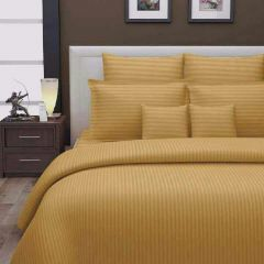 Satin 100% Cotton Bed Sheet (Light Brown)