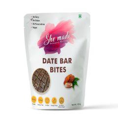 She Made Date Bar Bites  (100 gm)