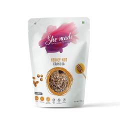She Made Honey Nut Granola (Pack of 3)-250gm*3
