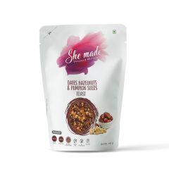 She Made Toast - Dates Hazelnut & Pumpkin Seed (Pack of 3)-150gm*3
