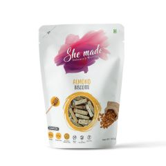 She Made Almond Biscotti (Pack of 3)-150gm*3